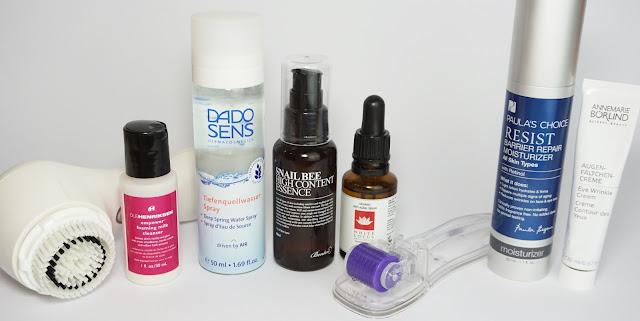 7 Tage - 7 verschiedene Hautpflege-Routinen am Abend Clarisonic, White Lotus, Annemarie Börlind