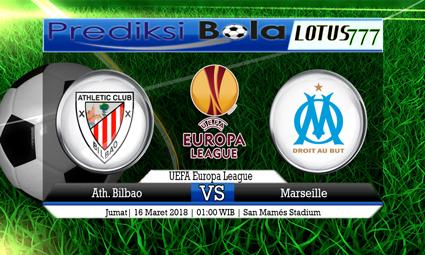 PREDIKSI  SKOR Ath. Bilbao vs Marseille 16 Maret 2018