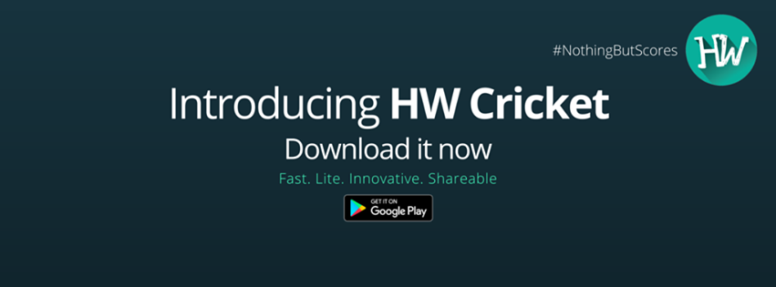 The Life's Way: @HoldingWilley Launched HW Cricket App