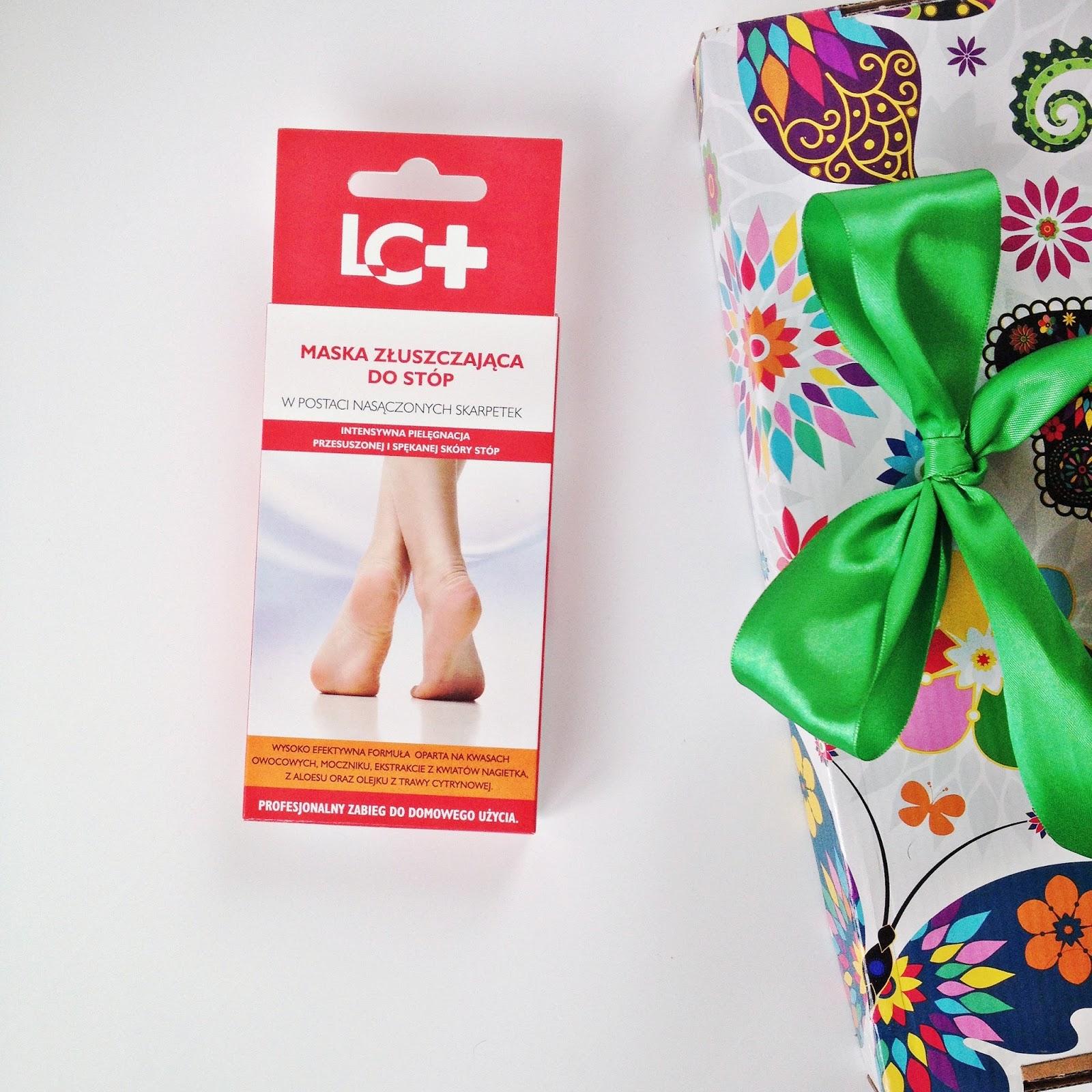 LC+ Maska złuszczająca do stóp