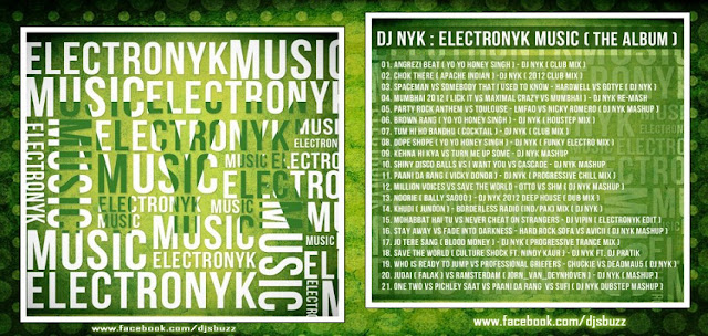 ELECTRONYK MUSIC – DJ NYK (THE ALBUM)