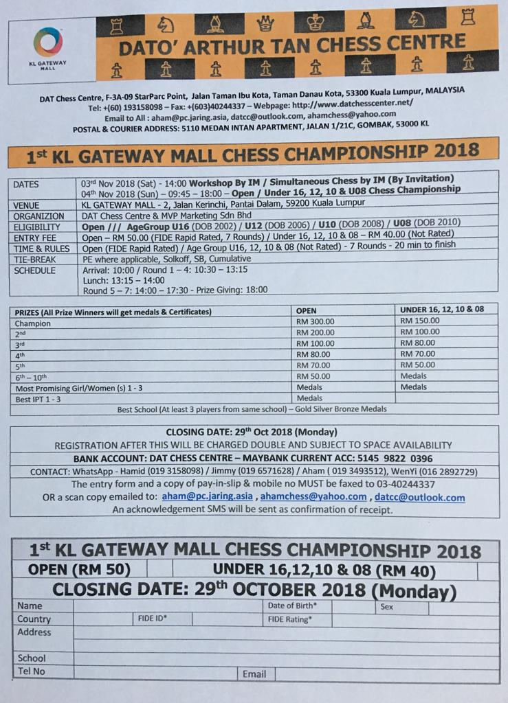 British chess championship 2018 prizes for mega