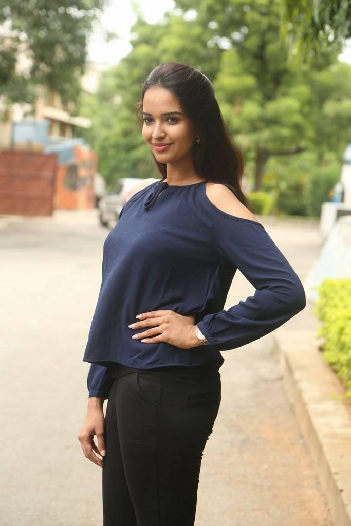 Actress Pujita At Darshakudu Movie Success Meet Gallery