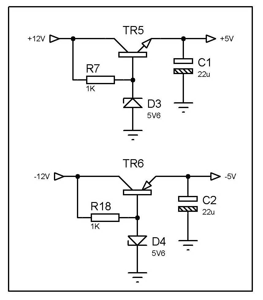 practical npn transistor circuit