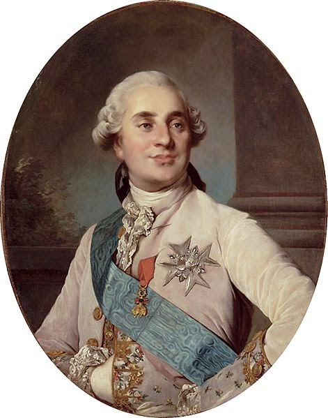 Louis XVI by Joseph-Siffrein Duplessis , 1776