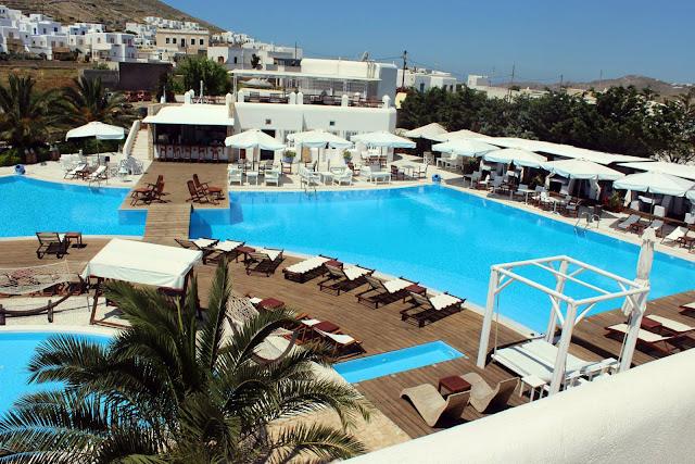 Folegandros, Greece, Chora, Resort, pool, architecture, good, relax