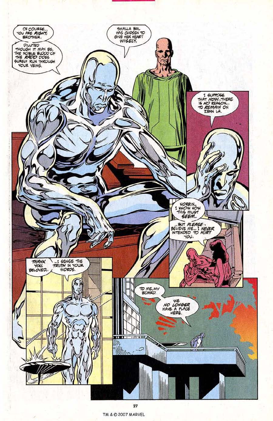 Silver Surfer (1987) Issue #101 #109 - English 29