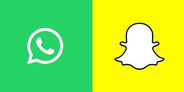 Sekarang Giliran Whatsapp Meniru Snapchat