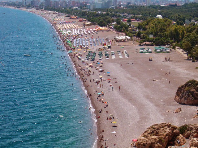 Turkey Kleopatra beach