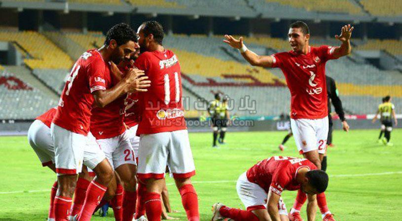 الأهلي يعود لصدارة الدوري الممتاز من جديد بعد الفوز على مصر المقاصة بثنائية