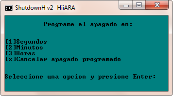 ShutdownH - El Blog de HiiARA