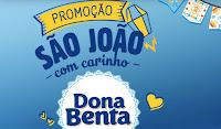 Promoção São João com Carinho Dona Benta promocaodonabenta.com.br