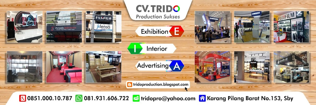 TRIDO Production ; Kontraktor Pameran dan Design Interior Surabaya