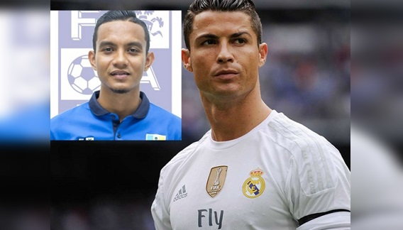 "(VIRAL) Cristiano Ronaldo tertanya-tanya dan membuat ""KOMEN PANAS"" Siapa Sebenar Faiz Subri ?? Sehingga dia ulang video tendangan itu sebanyak 7kali .."