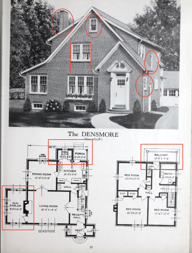 standard homes densmore floor plan