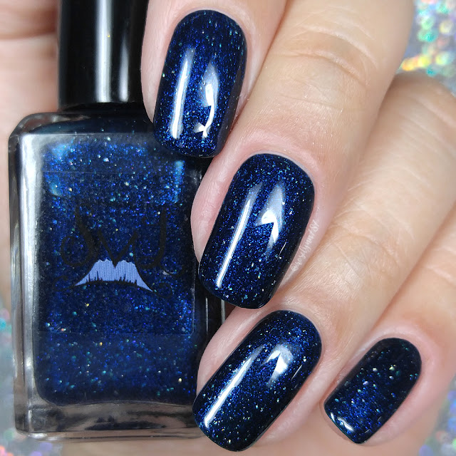 Smokey Mountain Lacquers - Winter Night Sky