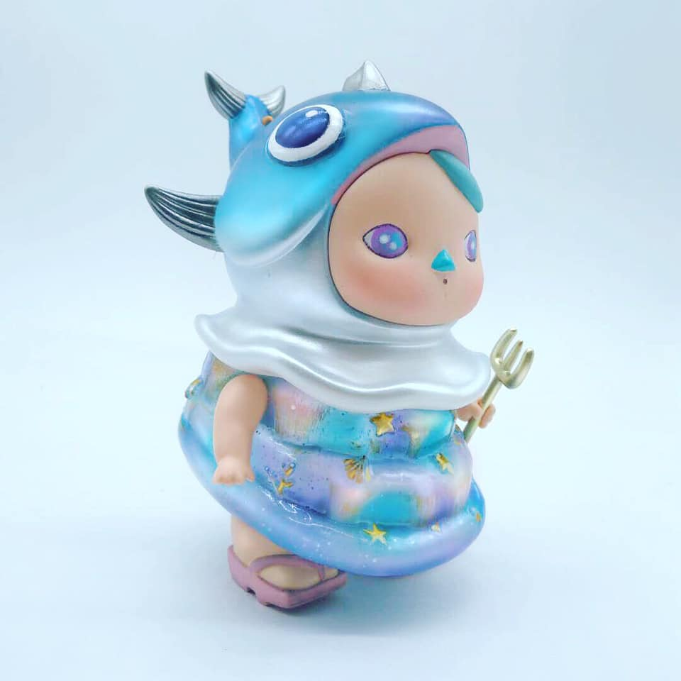 FAT FISH FAIRY by Chino Lam x Pucky to debut at Shanghai Toy Show 2019