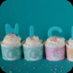 Rhabarber Kokos Cupcake
