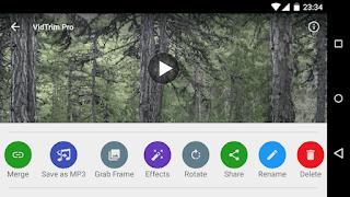 Aplikasi Edit Video Android Terbaik - Vidtrim