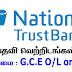 Tele Calling Agents - Nation Trust Bank (Vacancy)