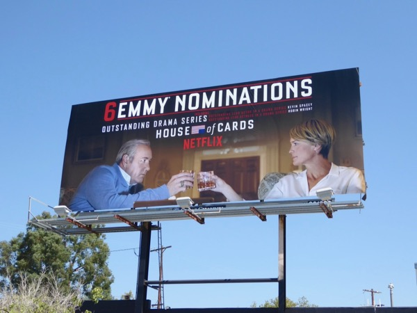 House of Cards season 5 Emmy nominations billboard