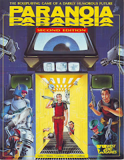 Paranoia, 2nd Edition cover