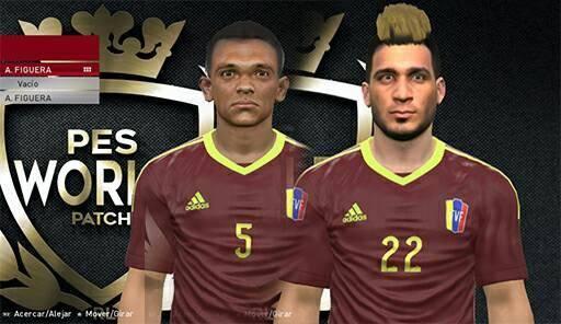 Figuera & Koudaffy Faces PES 2017