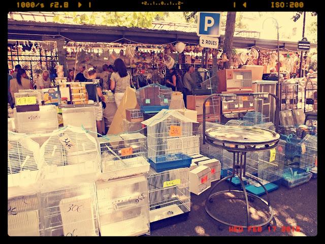 mercados de París