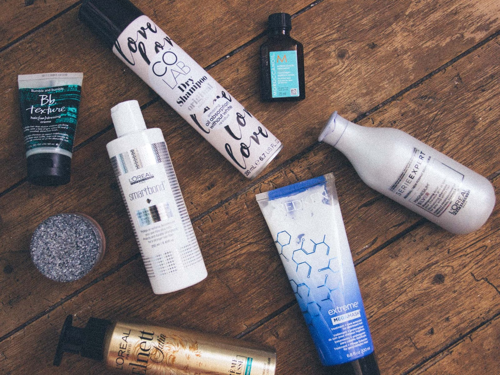 Haircare essentials blogger