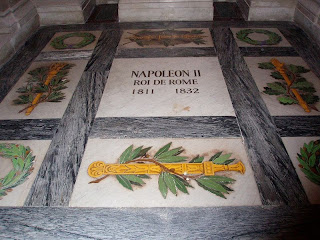 Photograph of the tomb of Napoleon II