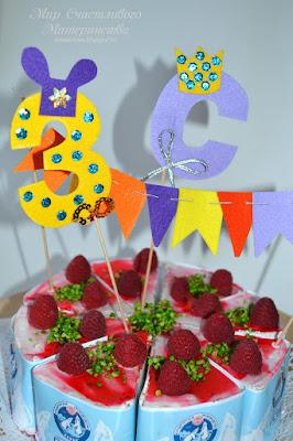 торт с ягодами север