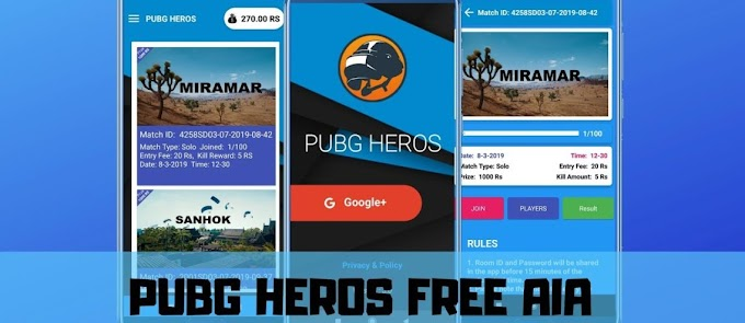 PUBG Tournament App AIA with Admin App For Kodular