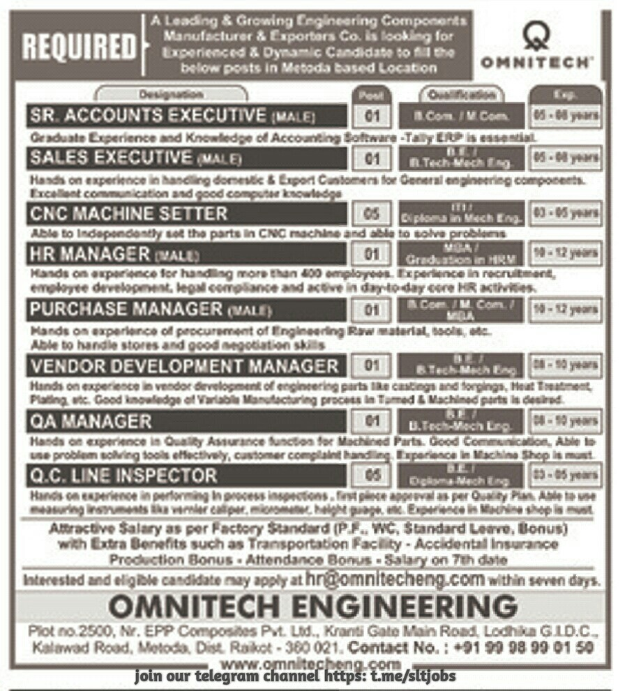 PRIVATE JOB GUJARAT: Jobs In Rajkot