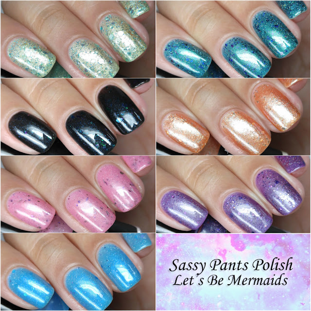 Sassy Pants Polish - Let's Be Mermaids Summer 2017 Collection