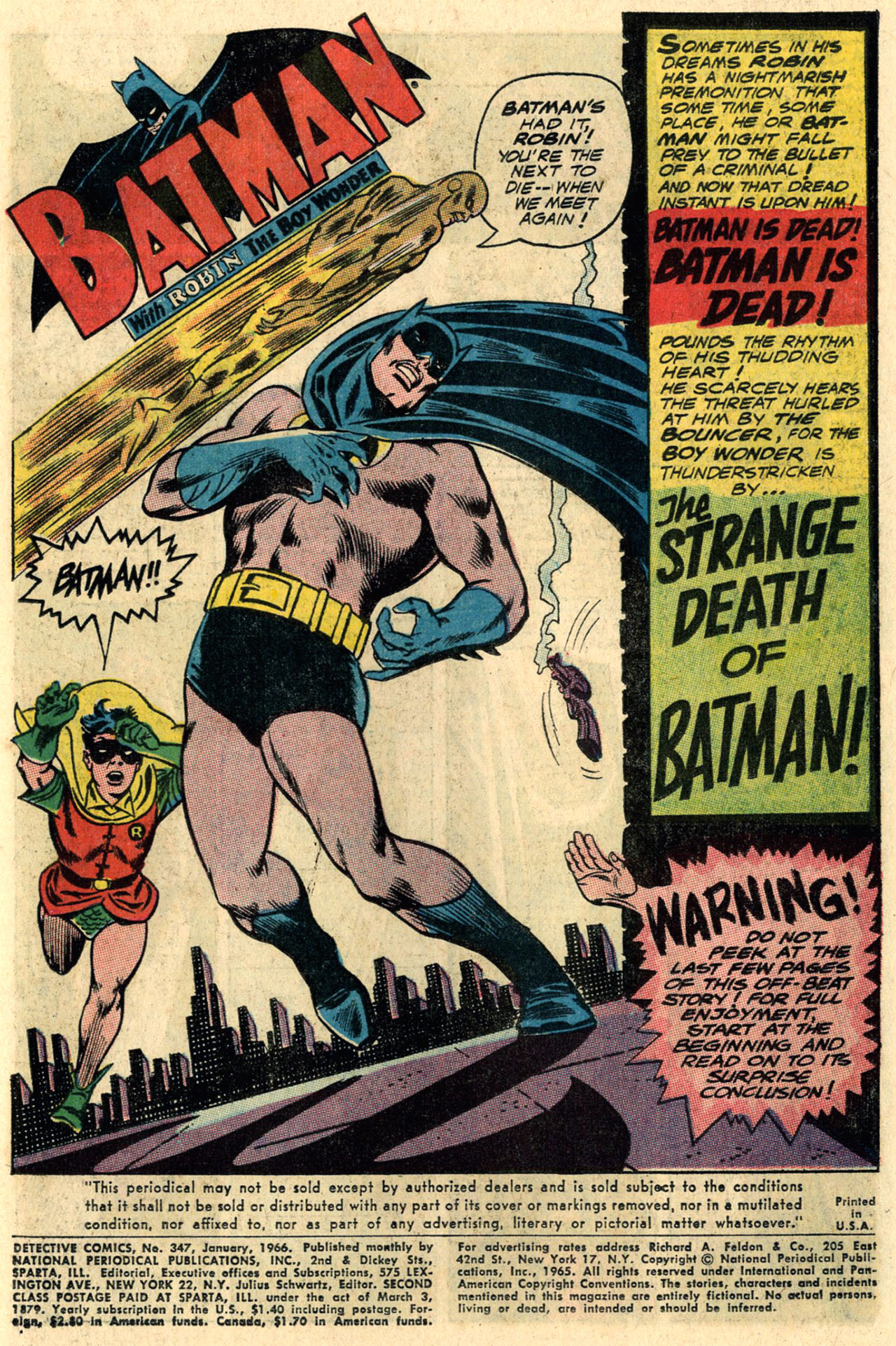 Detective Comics (1937) 347 Page 2