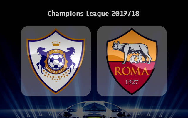 Qarabag FK vs Roma Full Match & Highlights 26 September 2017