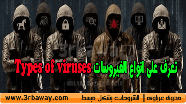 تعرف على انواع الفيروسات Types of viruses