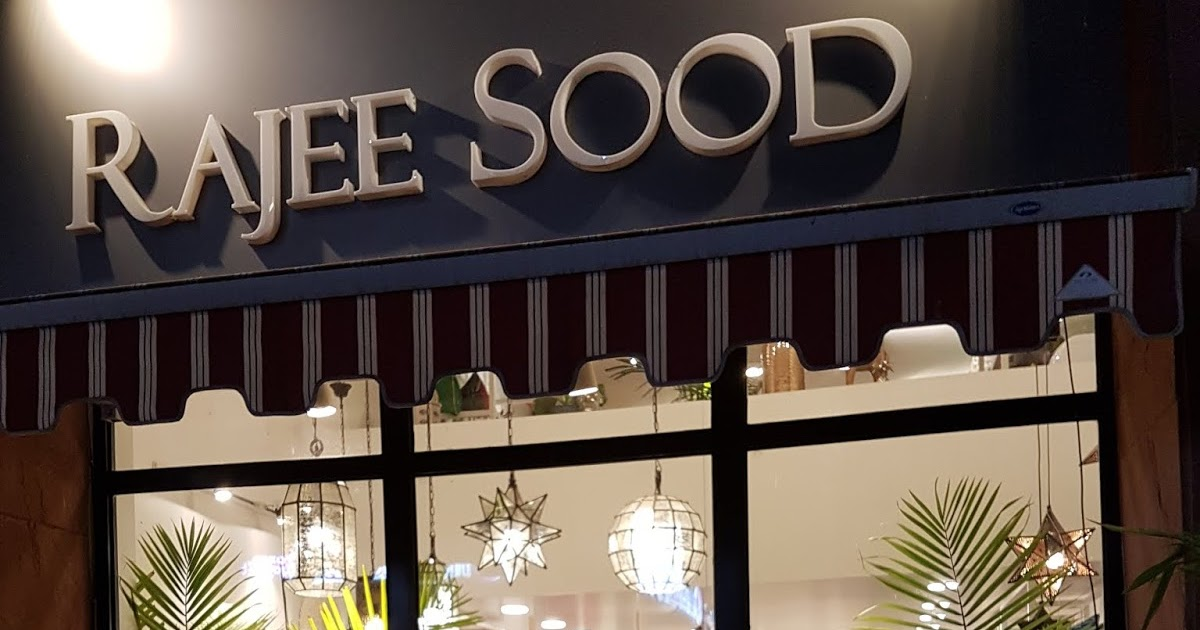 Happy 1st Birthday To Rajee Sood, A Boutique Home Store...