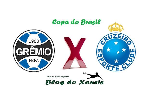 Grêmio x Cruzeiro Copa do Brasil Semifinal, Jogo 2 02/11/2016, 21:45 Arena do Grêmio