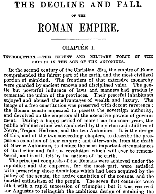 the important reasons for the decline of the roman empire There many reasons why the roman empire fell some are political and some are economic/social the paramount reason why the the roman empire fell was.