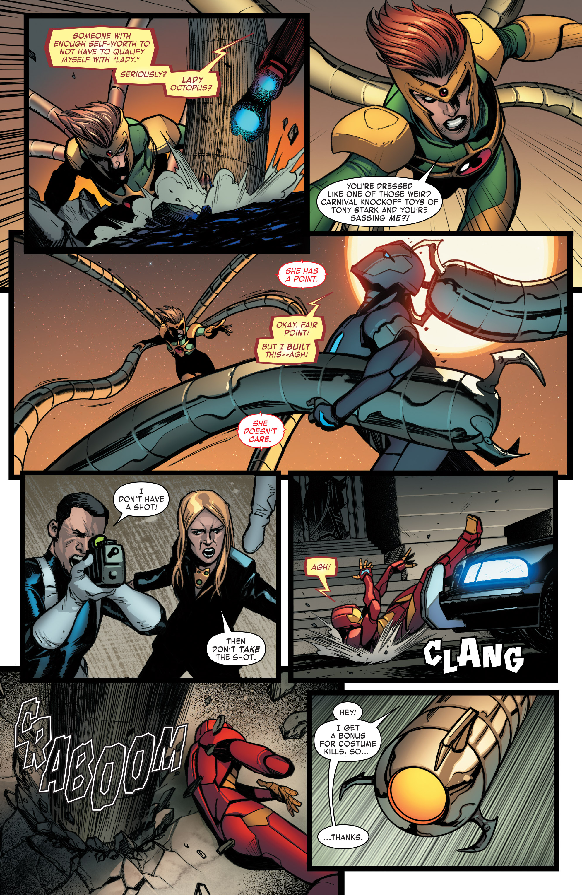 Read online Invincible Iron Man (2016) comic -  Issue #8 - 14