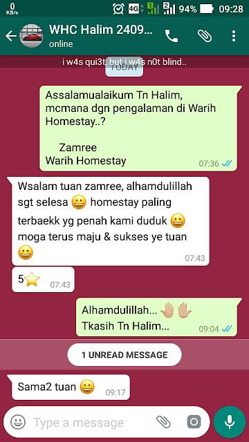 Warih-Homestay-Testimoni-En-Halim