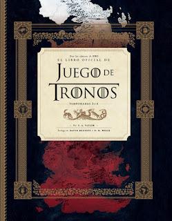 EL LIBRO OFICIAL DE JUEGO DE TRONOS. Temporadas 3 y 4