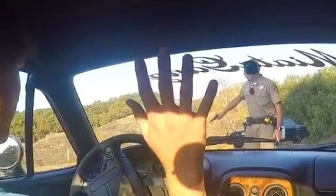 CHP Officer Draws Weapon in incident with Touge Driver