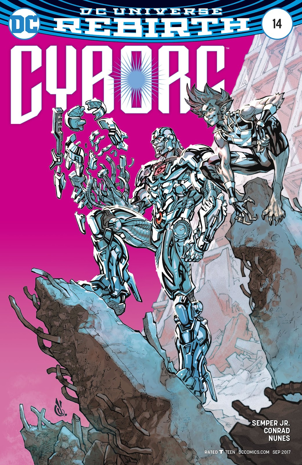 Read online Cyborg (2016) comic -  Issue #14 - 3