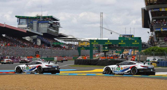 Risi Unveils Blue Ferrari GTE-Pro Livery for 24H Le Mans ...