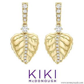 Kate Middleton accessorised Kiki McDonough Lauren earrings