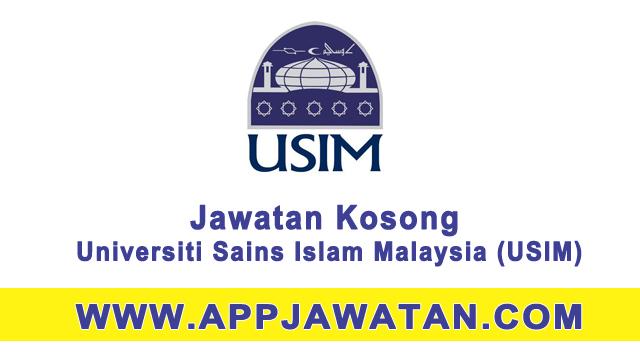Jawatan Kosong Kerajaan di Universiti Sains Islam Malaysia (USIM)