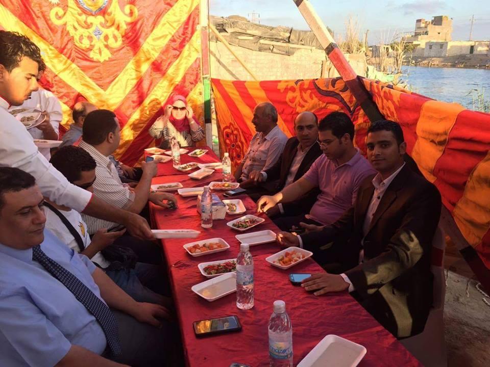 حفل افطار جماعى لقائمة حب مصر للمحليات بالاسكندرية
