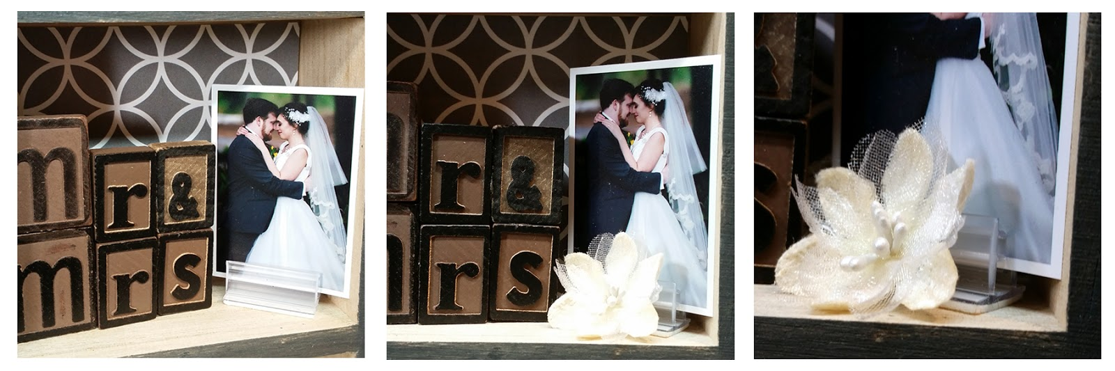 My Time To Play: Wedding Shadow Box Display - 2017 Best Blogger ...